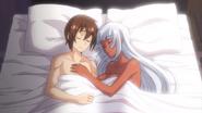 Tatsuya and Liliana asleep