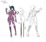 Asagi TTF Concept Art