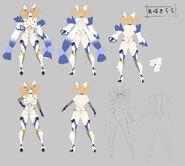 Kirara Concept Art
