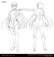 Yuuko Concept Art