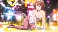 Aki's bunny suit cosplay
