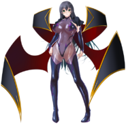 Yuuko with wings