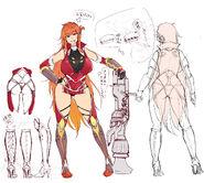 Maika concept art