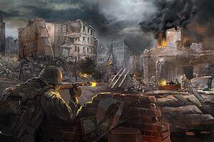 Urban fighting in New Stalingrad