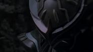 Cursed armor close-up