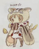 Cherna Mouse early illustration