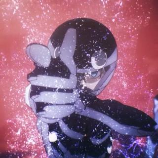 Tatsuya activando Material Burst.