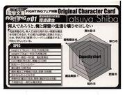 Tatsuya Shiba Power Chart