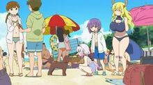 C846e114ed4311b60455f80b84792f57--kobayashi-san-maids