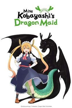 Kobayashi-san Chi no Maid Dragon First Poster