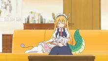 Tohru with Kanna