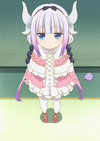 Kanna Stitched Cap (Miss Kobayashi's Dragon Maid Ep 2)