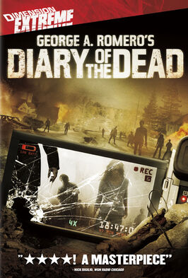 Diary of the dead george romero dvd