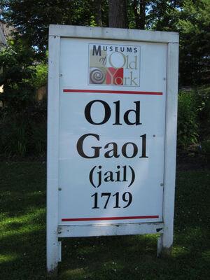 M old york gaol