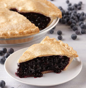 M blueberry pie