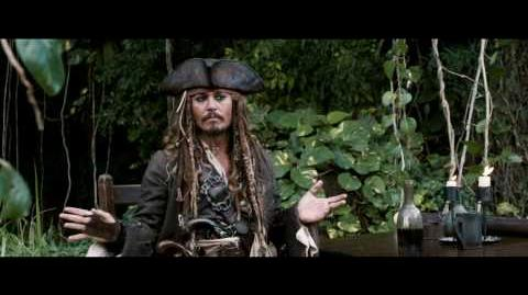Pirates Of The Caribbean *OFFICIAL* Jack Sparrow Comic-Con 2010 Greeting