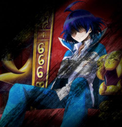 Iruma in DemonChair