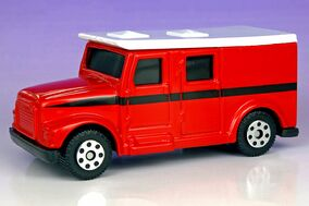 Maisto Armored Van - 4600ff