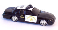 Maisto ford crown victoria california highway patrol
