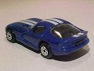 1996 Dodge Viper interior rear