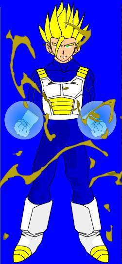 Ethan in Super Saiyan 2