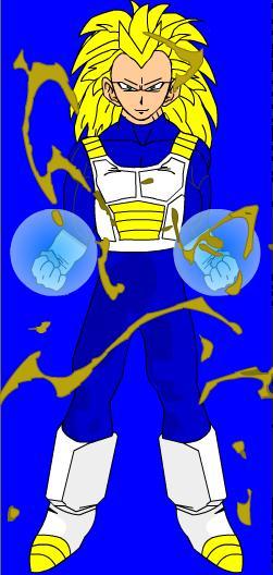 Ethan in Super Saiyan 3