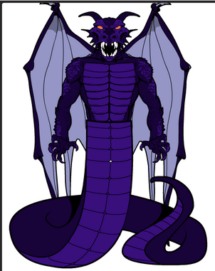 Ryutaro Dragon Form