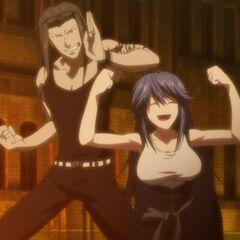 Itagaki Twins (Tatsuko and Ryuhei) of the Itagaki Siblings. (Anime)