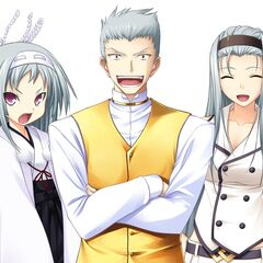 The Kuki Siblings (Monshiro, Hideo and Ageha)
