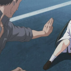 Shakadou vs Yukie (Anime)
