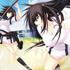 Tsubame vs Momoyo (Majikoi S)