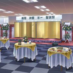 Welcomeparty for Yoshitsune, Benkei and Yoichi