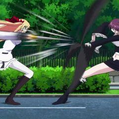 Chris vs Ami (Anime)