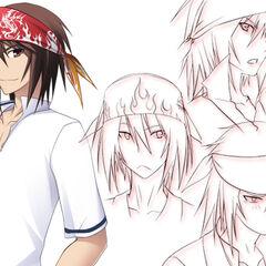 Shouichi Kazama Sketches.