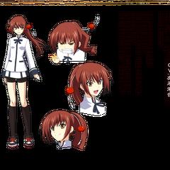 Kazuko in Anime design.