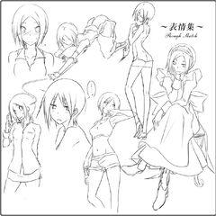 Azumi Sketches