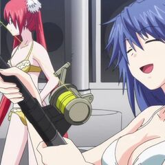 Tatsuko, Angel and Shakadou at sea (Anime)