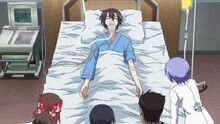Yamato in hospital