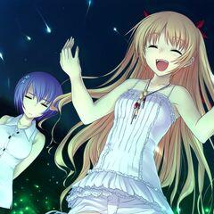 Chris, Miyako and Yamato to see the fireflies.