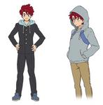 Shougo Character Design - Normal