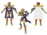 Gilbert Character Design - Bone