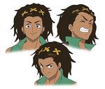 Antonio Character Design - Expressions