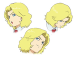 Gilbert Character Design - Expressions