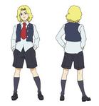 Gilbert Character Design - Normal