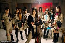 Majisuka3 TeamMongoose Members