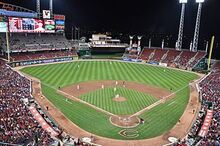 Great American Ball Park April 2011