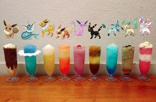 Eeveelution Cocktails