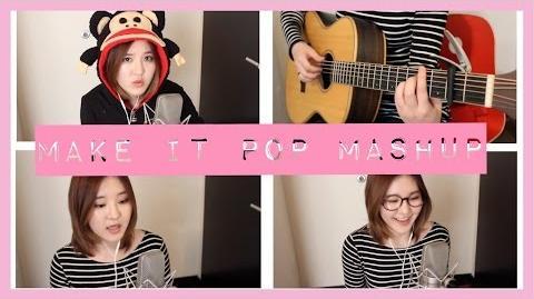 Make It Pop 1 Acoustic Mashup - Megan Lee