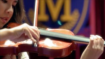 Corki Playing Violin