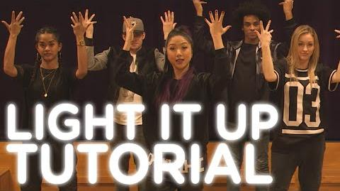 "XO-IQ's ""Light It Up"" Dance Tutorial From the TV Series Make It Pop"